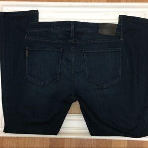 Paige dark wash federal jeans